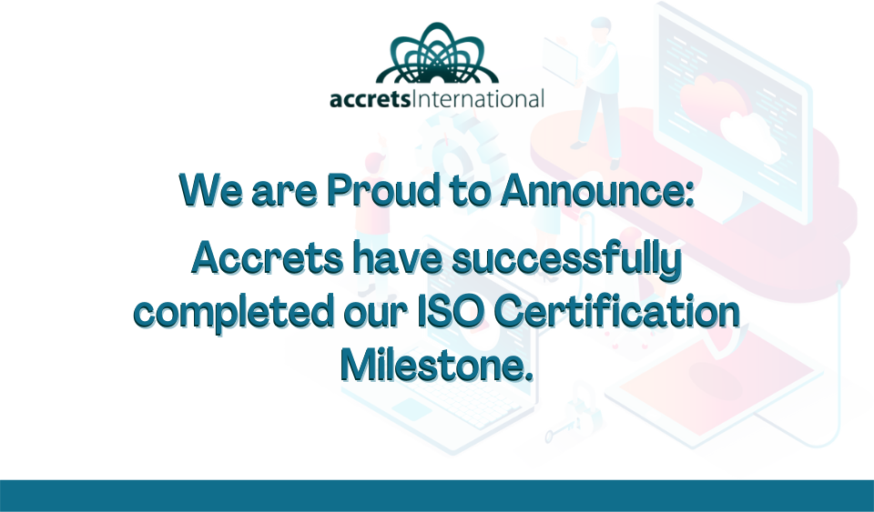 What is ISO and why is it a celebration to be ISO certified?
